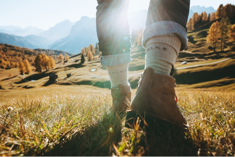 Falke Talkie Ergo Unisexe wandersocken Trekking Chaussettes outdoorsocken bas